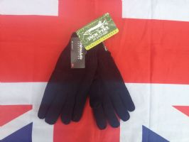 # NEW # JACK PYKE BLACK THINSULATE WOOLEN GLOVES